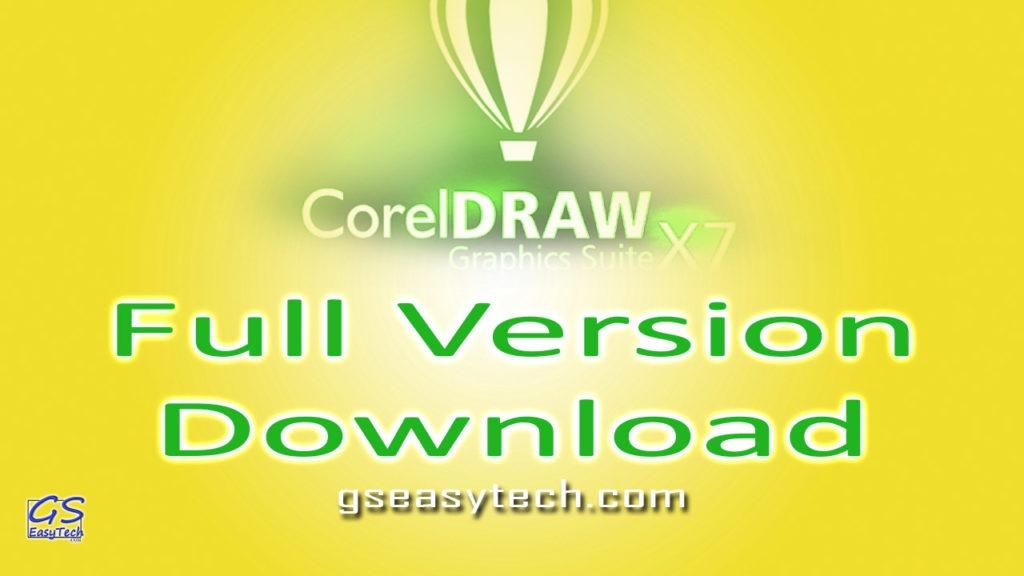 CorelDRAW Graphics X7 Full Version Download