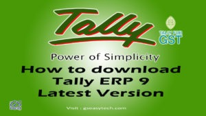 Tally ERP 9 Latest Version Download and Install