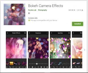 bokeh effects