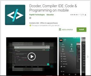Dcoder, Compiler IDE : Code & Programming on Mobile