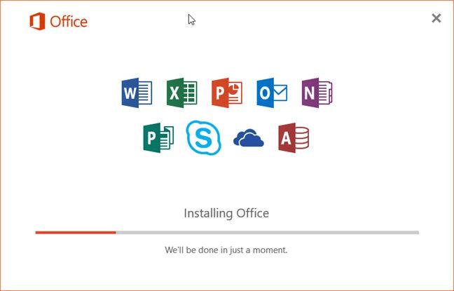 office 2019 installaiton process