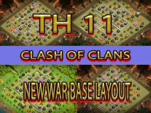 TH 11 WAR BASE