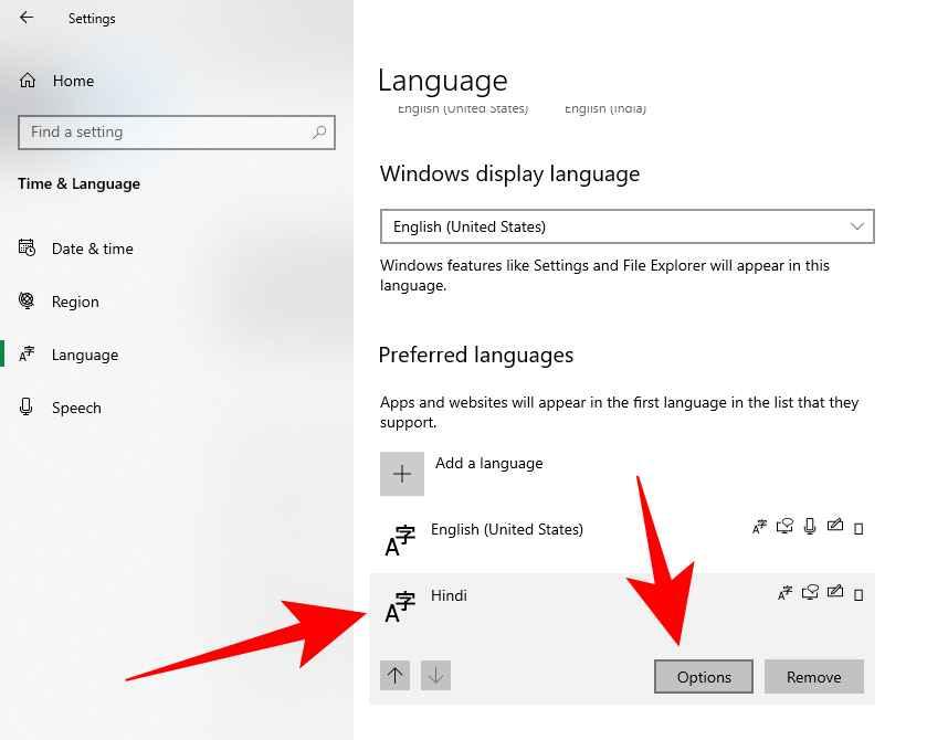 How to install Hindi phonetic keyboard in Windows 10-4